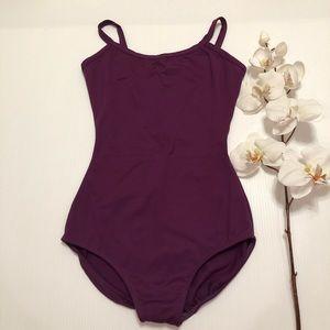 Eurotard Girls Purple Dance/Gymnast Leotard Size M